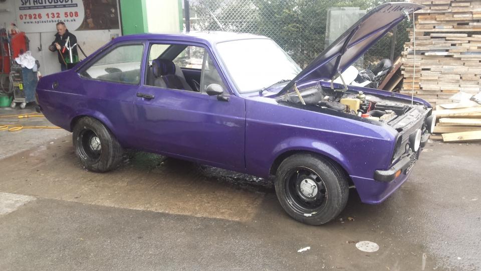 ESCORT MK2 1600 SPORT PURPLE | AP Cars and Classics - Edinburgh ...